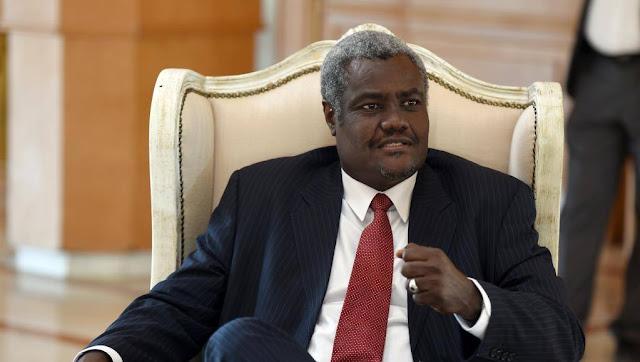 Chad candidate Moussa Faki Mahamat