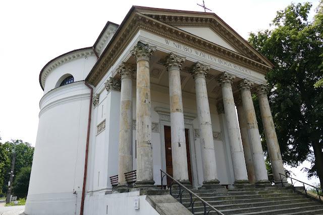 kościól rotundowy w Puławach