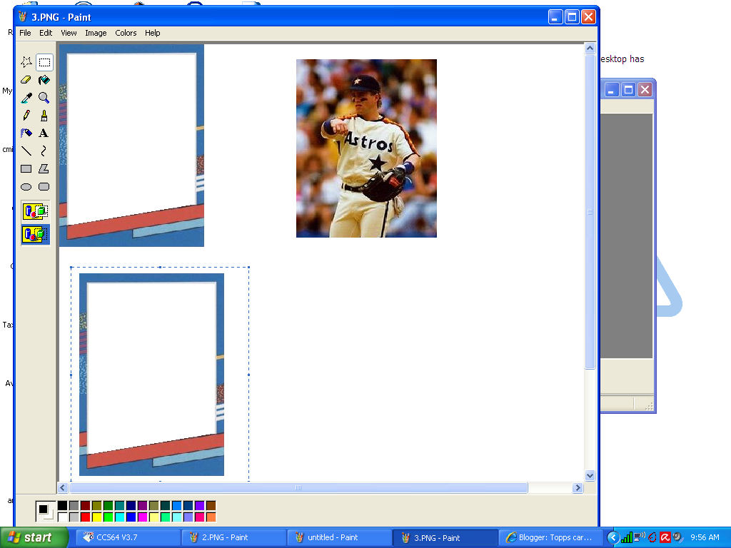 Topps Cards That Never Were How To Make A Custom Card - Baseball card template photoshop