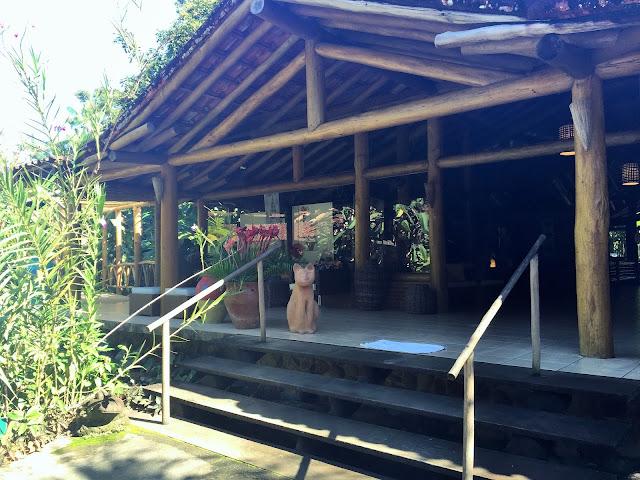 Recepção do Itamambuca Eco Resort