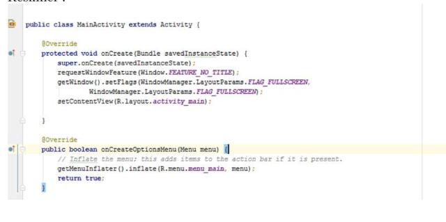 Andoid Studio Programlama Bölüm 6(Uygulamayı tam ekran yapma)