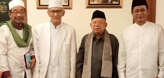 KH. Ma'ruf Amin, Kyai Nomor Satu NU dan Cicit Imam Masjidil Haram Imam Nawawi al-Bantani