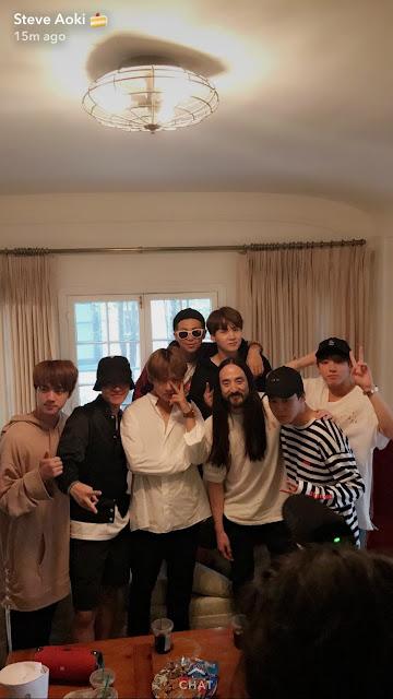 Steve Aoki dan BTS akan berkolaborasi