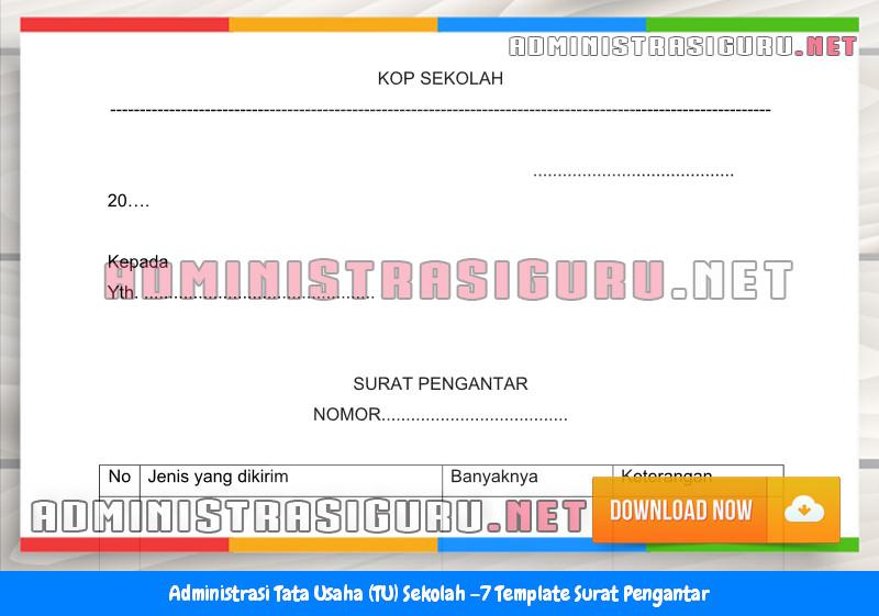 Contoh Format Surat Pengantar Administrasi Tata Usaha Sekolah Terbaru Tahun 2015-2016.docx