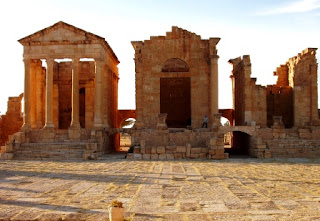 5. Sbeitla Forum Temples