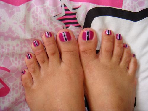 Summer Toe Nail Design...