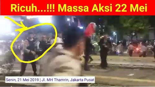 Video Ricuh, Massa Aksi 2019 Sebagian Diamankan Polisi