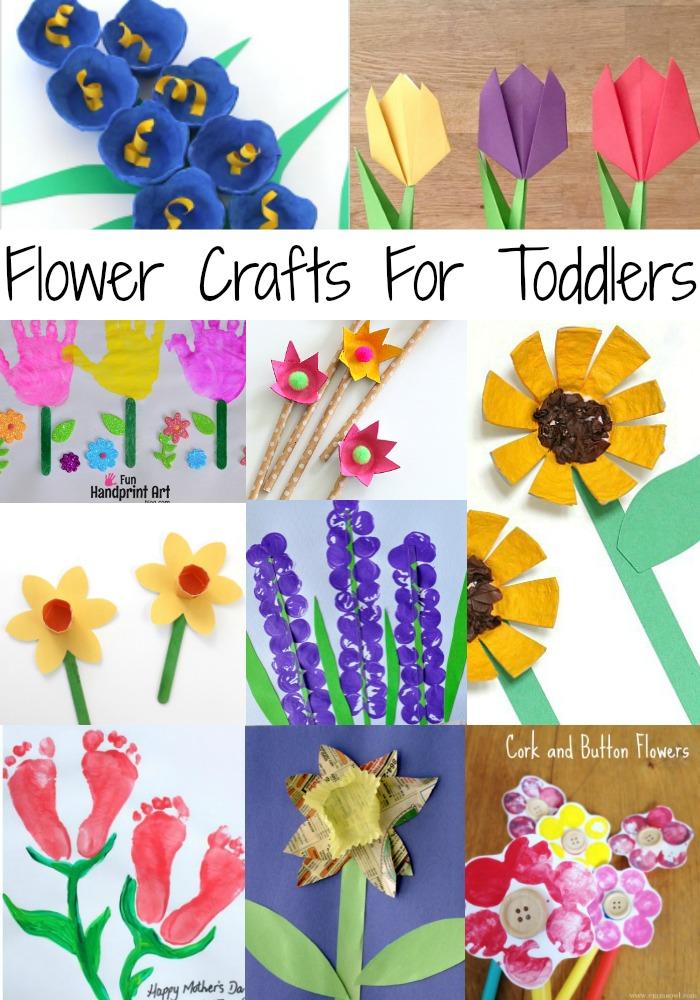 Flowers, Flowers Everywhere! {30 Art & Craft Ideas} - Teacher Types