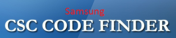 Samsung CSC list sorted by CSC name before firmware upgrade