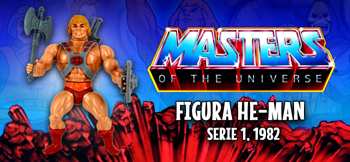 Masters del Universo: He-Man Mattel 1982