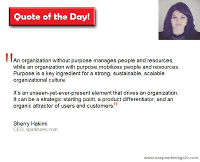 business purpose quote by Sherry Hakimi