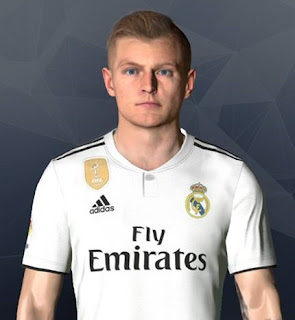 PES 2017 Faces Toni Kroos by Ben Hussam FaceMaker