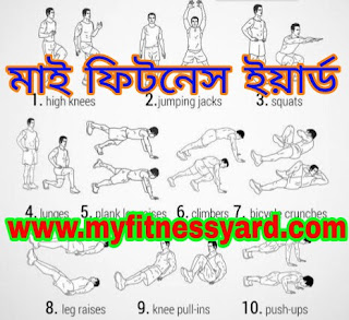 Home workout , Myfitnessyard.com