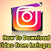 How Do I Download A Video From Instagram