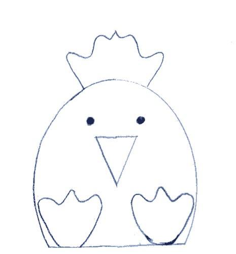Fazendo a minha festa infantil cone de guloseimas de coelho for Easter chick templates free