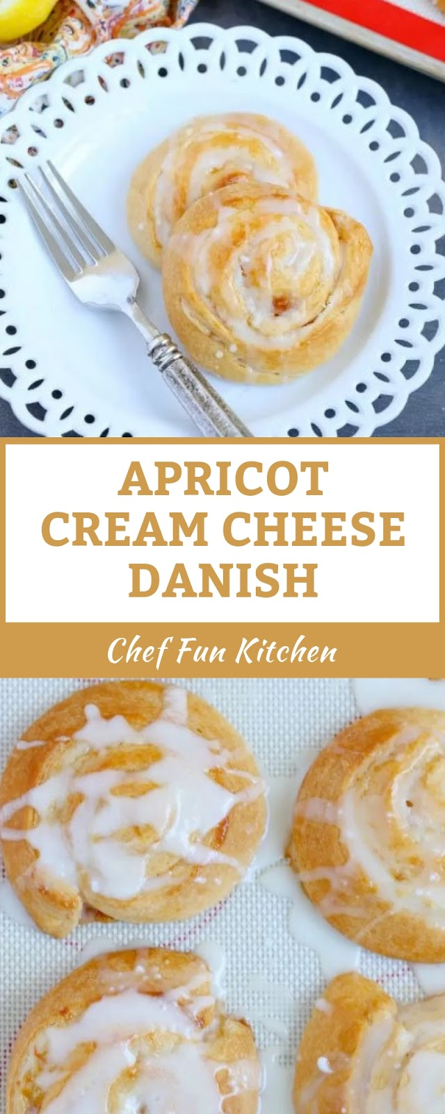 APRICOT CREAM CHEESE DANISH
