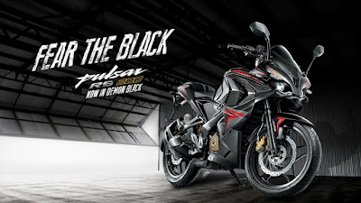 "Bajaj Pulsar RS200 ""Fear The Black"" siap ramaikan pasar biker Tanah Air"