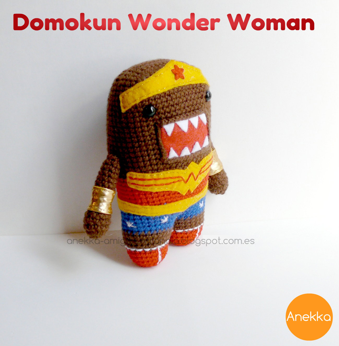 wonder woman crochet domokun