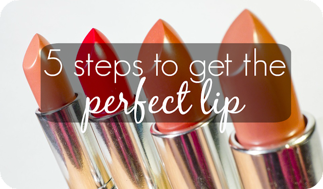 5 steps to get the perfect pout