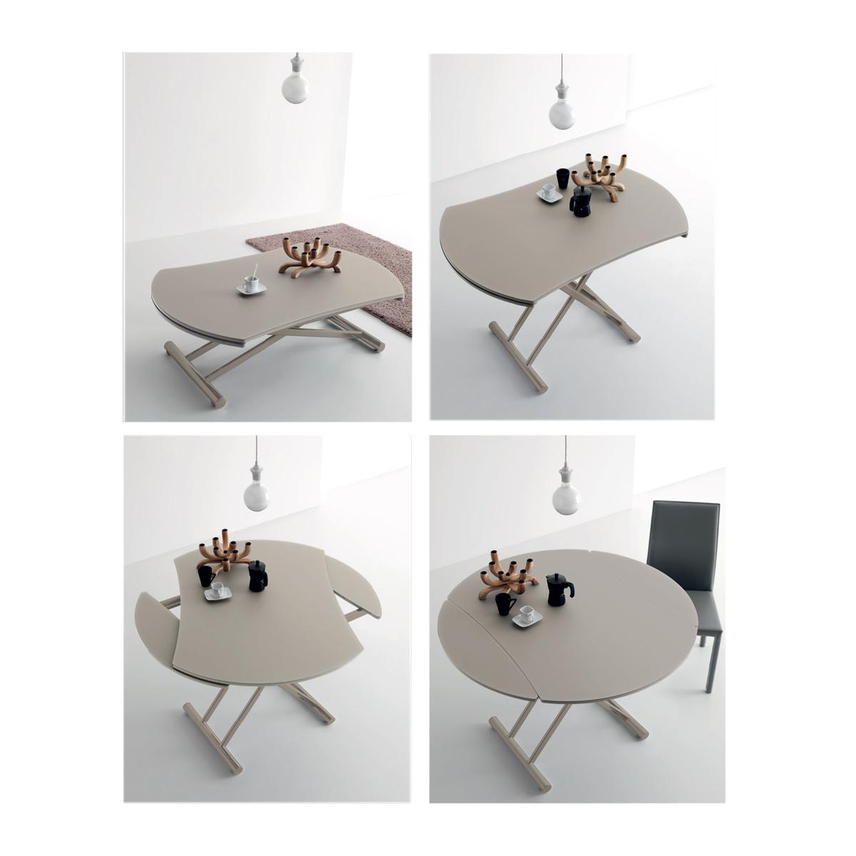 Unik home staging 8 astuces pour am nager un petit espace for Table ronde ou rectangulaire pour petit espace
