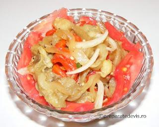 Salata de vinete cu legume retete culinare,