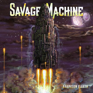 """Ο δίσκος των Savage Machine """"Abandon Earth"""""""