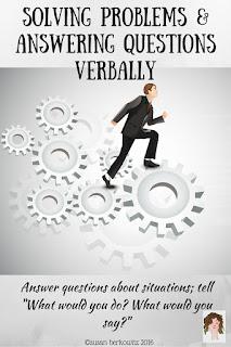 verbal problem solving
