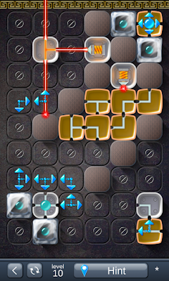 Solution for Laser Box - Puzzle (Royal) Level 10
