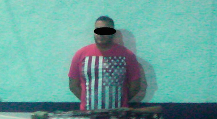"""BIEN ARMADO Y CON DROGA LO ENCONTRARON al """"RR"""" de """"La Línea"""";Ofreció 500 mil dólares a policías para que lo liberaran y esto hicieron los agentes federales"""