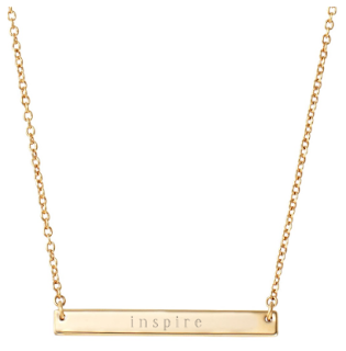 Stella Dot Engravable Bar Necklace as seen on Caroline Manzo, www.stelladot.com/wcfields