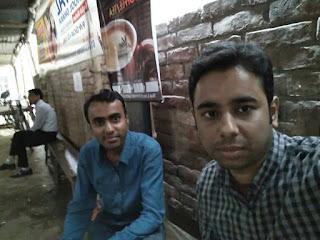 Sajal Mondal with Hasib