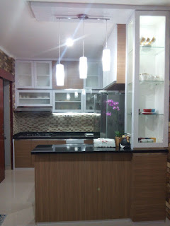 Contoh Dapur Minimalis 2 Premier Terrace Jakarta Timur