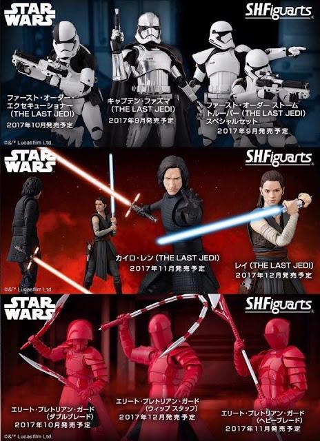 S.H.Figuarts de Star Wars The Last Jedi - Tamashii Nations