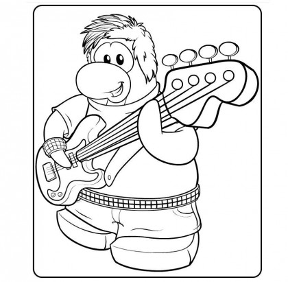 guitar hero coloring pages - photo#26