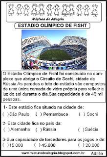 Estádio Fisht copa mundial Rússia