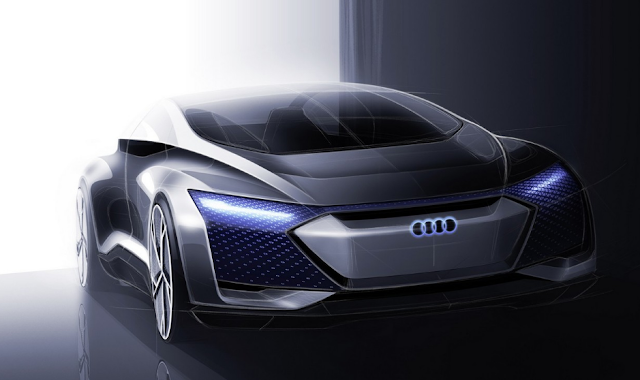 Audi Aicon concept promises up to 800 kilometers of autonomy in an accident-free