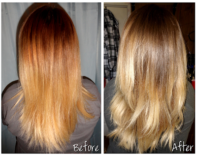 DIY Ombre for Light Hair ~ Bows and Curtseys