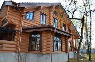 Окна из меранти из Польши