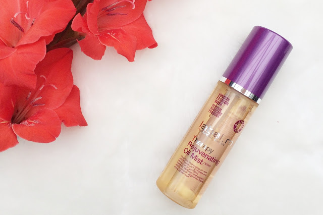label.m Therapy Rejuvenating Oil Mist review, beauty bloggers, FashionFake
