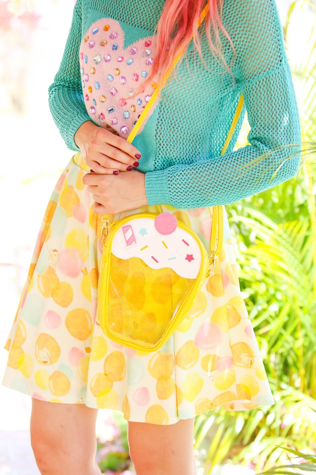 Adorable food purse from Japan
