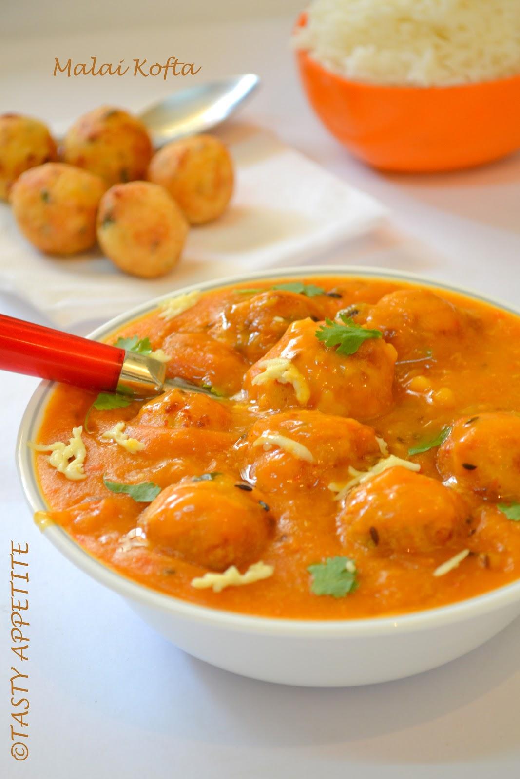 Indian Food Malai Kofta