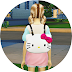 child kitty backpack_unisex_키티 백팩_남녀 공용 어린이 가방