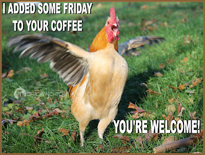 I added some Friday to your coffee. You're welcome!