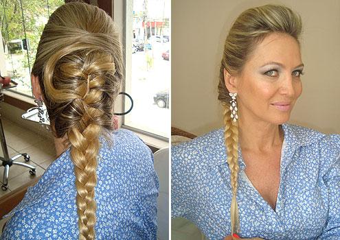 Tendência de penteados - Moicano feminino, fotos e modelos