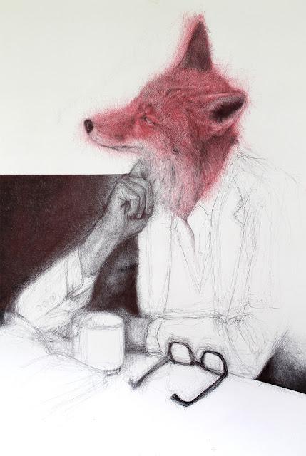"""relaxing"",""fox"",""dibujo"",""bolígrafo"",""pen"",""encargo"",""zorro"",""boligrafo"",""ilustración"",""ilustracion"",""illustration"",""drawing"",""draw"",""pen"""