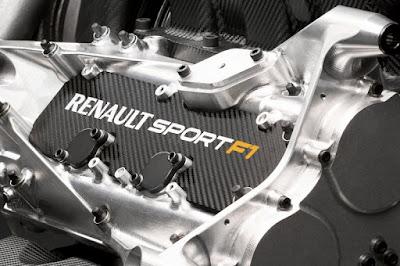 Dettaglio Coperchio testata motore Renault Sport Energy