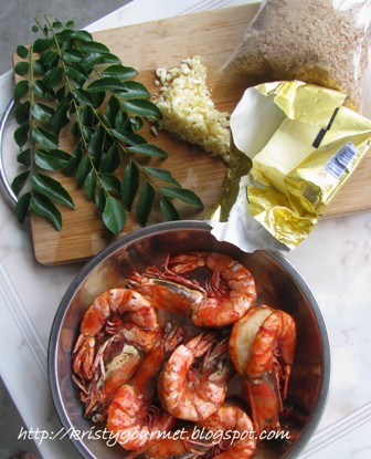 how to clean prawns without removing shell