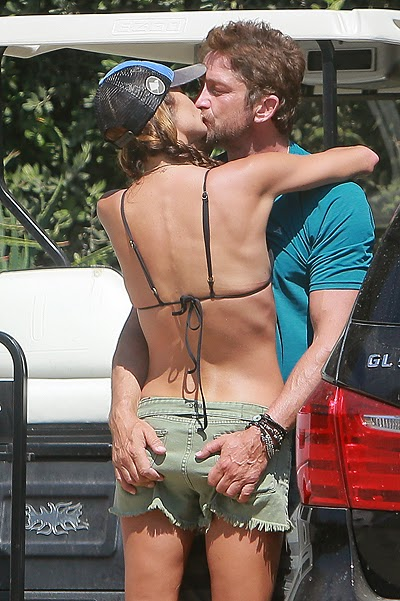 Gerard Butler with a new lover