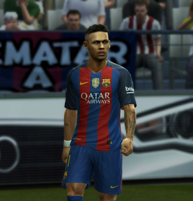 PES 2013 Barcelona Kit Season 2016/17