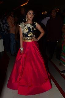 Shriya Sharma At Nirmala Convent Movie Preview Show (14).JPG